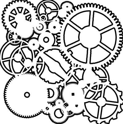 Crafters Workshop 6x6 - Mini Gears
