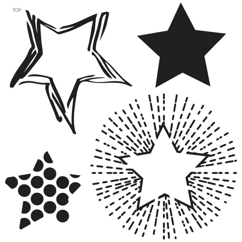 Crafters Workshop 6x6 - Mini Layered Stars