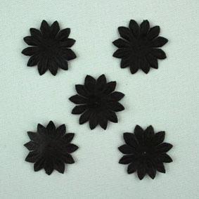 Green Tara - 2cm Gerbera - Black