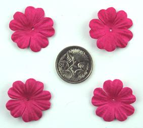 Green Tara - 2cm Petals - Hot Pink