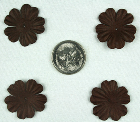 Green Tara - 2cm Petals - Dark Chocolate