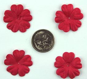 Green Tara - 2cm Petals - Red