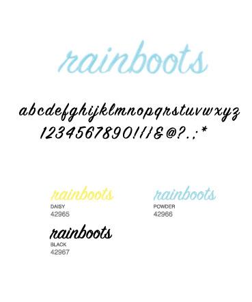 AC Thickers - Puffy - Rainboots - Powder