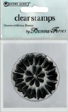 Autumn Leaves - Clear Stamps - Flower within a Flower