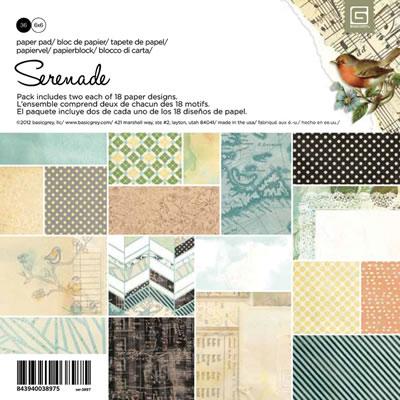 Basic Grey - Serenade - 6x6 Paper Pad