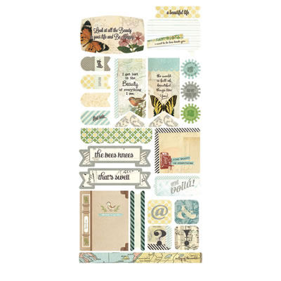 Basic Grey - Serenade - Tile Stickers