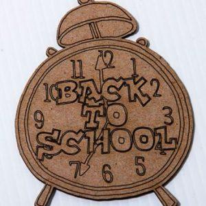 WOW - Back to School Clock
