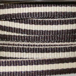 Candy Cane Strip - Brown/Latte 6mm