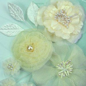 Green Tara Flower Pack - Ivory