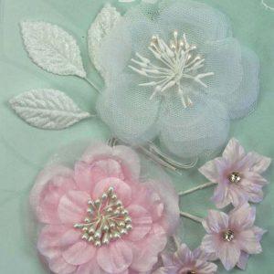 Green Tara Flower Pack - Soft Pink