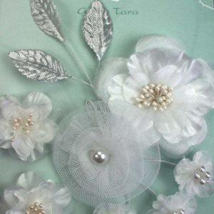 Green Tara Flower Pack - White