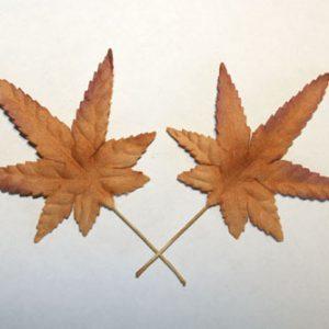 Green Tara - Bonsia Leaves - Copper
