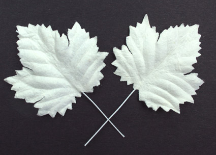 Green Tara - Maple Leaf - White