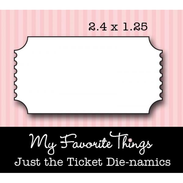 Die-namics  -  Just the Ticket - Die Only