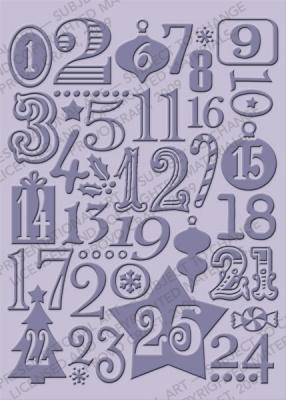 Cuttlebug - Embossing Folder - Countdown