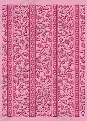 Cuttlebug - Embossing Folder - Holly Ribbons