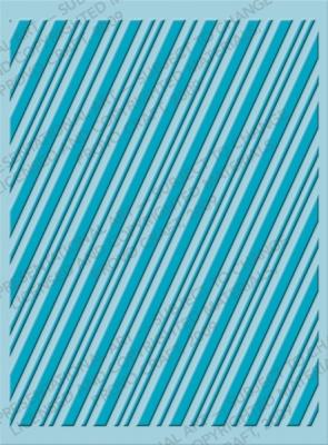 Cuttlebug - Embossing Folder - Candy Stripe