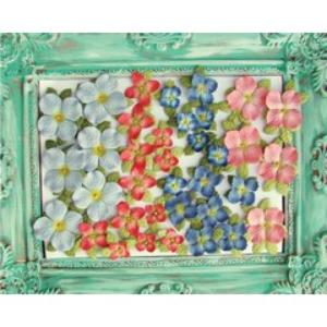 Prima Flowers - Caboodles - Blue/Red