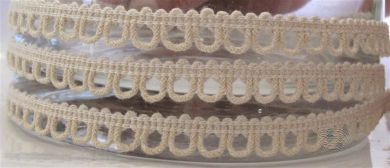 Scallop braid - natural
