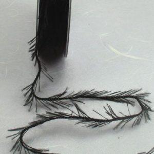 Fringe Ribbon - Black