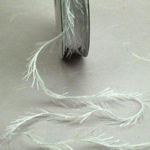 Fringe Ribbon - White
