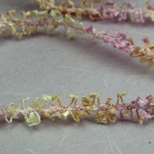 Green Tara -  Loop N Tassel Ribbon - Pink Champagne