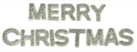 Kaisercraft Sparklet Words - Merry Christmas