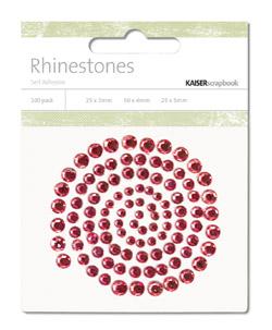 Kaisercraft - *NEW* Rhinestones - Jewels - Lippy Red