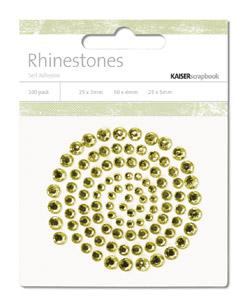 Kaisercraft - *NEW* Rhinestones - Jewels - Spilt Pea