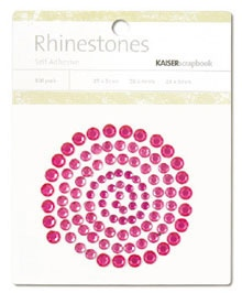 Kaisercraft - Rhinestones Jewels - Hot Pink