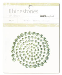 Kaisercraft - Rhinestones - Jewels - Mint Green