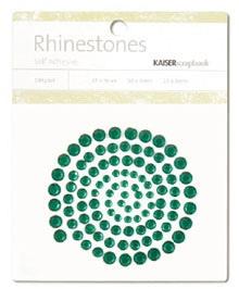 Kaisercraft - Rhinestones - Jewels - Dark Green