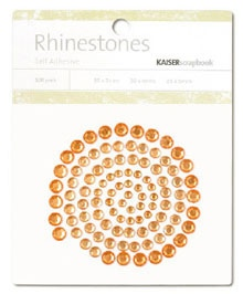Kaisercraft - Rhinestones Jewels - Orange