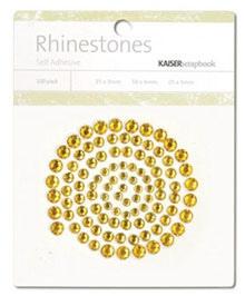 Kaisercraft - Rhinestones - Jewels - Deep Yellow