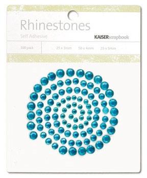 Kaisercraft - Rhinestones - Jewels - Aquamarine