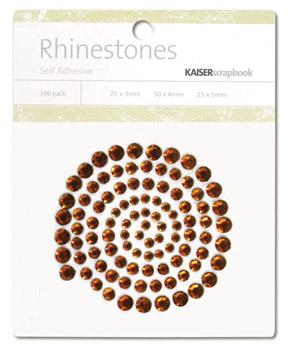 Kaisercraft - Rhinestones - Jewels - Bronze