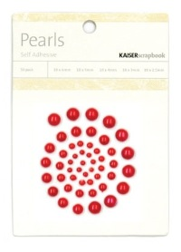 Kaisercraft - Pearl Bling - Red