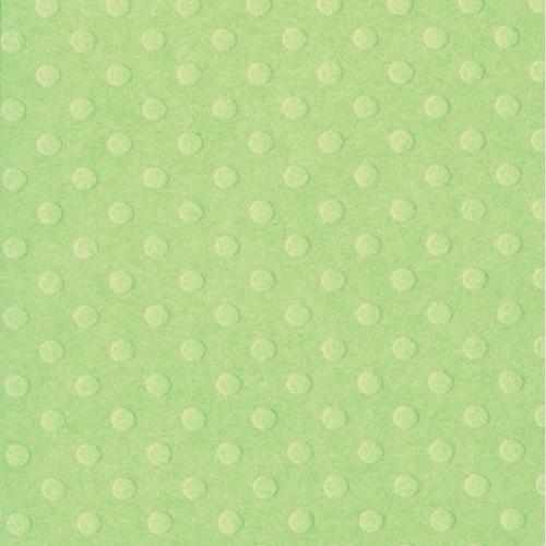 Bazzill - Swiss Dots - Celitic Green