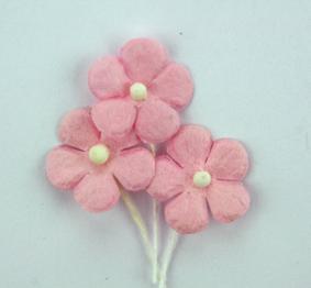 Green Tara - Mini Paper Flower - Pale Pink