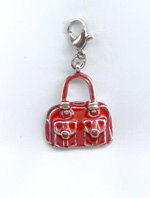 Red Handbag Charm