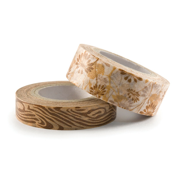 We R Memory Keepers Washi Tape - Brown