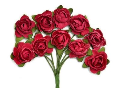 Kaisercraft - Mini Blooms - Cranberry
