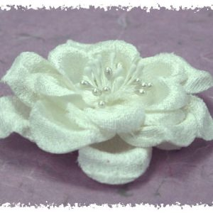 Green Tara  - Velvet Rose 8cm - White
