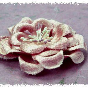 Green Tara  - Velvet Rose 8cm - Dusky Pink