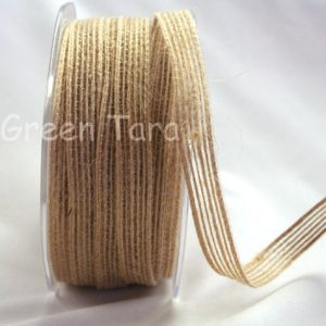 Green Tara - Jute Ribbon 15mm