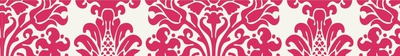 Kaisercraft Printed Tape - Pink Damask