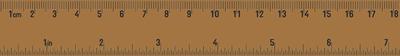 Kaisercraft Printed Tape - Ruler