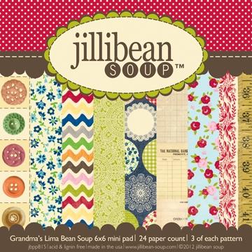 Jillibean Soup - Grandma's Liam Bean Soup - 6x6 Mini Pad