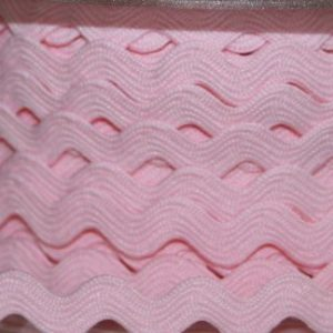 RicRac -  Light Pink 6mm