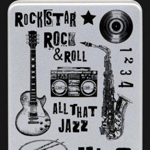 Darkroom Door - Stamps - Music Collection - Rockstar